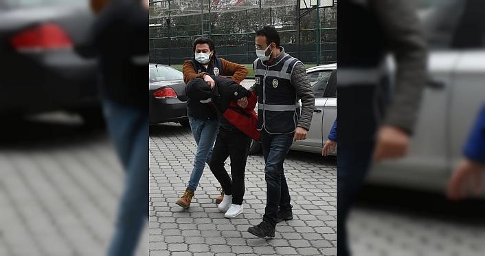 Samsun'da avukatlık büroları ile yazılım firmasından hırsızlık yapan 3 şüpheli yakalandı
