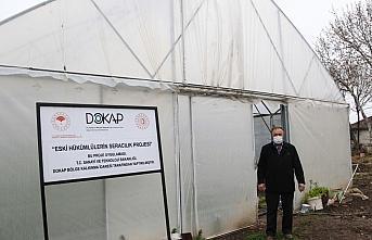 Samsun'da eski hükümlüler devlet desteğiyle seracılığa başladı