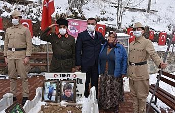 Şehit Eren Bülbül'ün annesi 8 Mart Dünya Kadınlar...