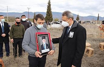Sinop Valisi Karaömeroğlu, Boyabat ilçesinde cenaze...