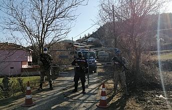 Sinop'ta bir köy Kovid-19 tedbirleri kapsamında karantinaya alındı