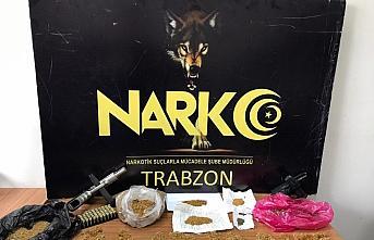 Trabzon'da uyuşturucu operasyonunda 4 kişi gözaltına alındı