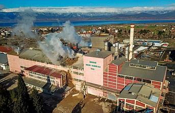 Türkşeker Burdur ve Yozgat Fabrikası'nda rekor üretim