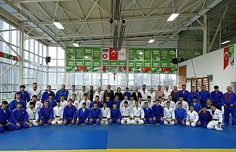 Ümit Milli Erkek Judo Takımı'nın aday kadrosu...
