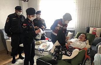 Zonguldak'ta bedensel engelli gencin yüzünü jandarma...