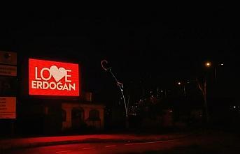 Zonguldak'ta LED ekranlara