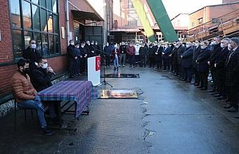 Zonguldak'taki grizu faciasında hayatını kaybedenler anıldı