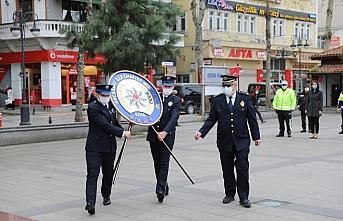 Akçaabat'ta, Türk Polis Teşkilatının 176. kuruluş yıl dönümü kutlandı