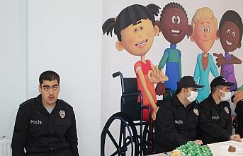 Amasya'da engelli çocukların