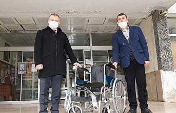 Görele ilçesinde kamu binalarında tekerlekli sandalye hizmeti