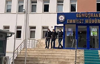 Gümüşhane'deki uyuşturucu operasyonunda 2 şüpheli yakalandı