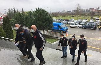 Samsun'da düzenlenen uyuşturucu operasyonunda...