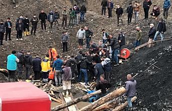 GÜNCELLEME - Zonguldak'ta ruhsatsız işletilen maden ocağındaki göçükte 1 işçi yaşamını kaybetti