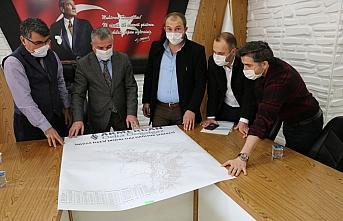 Havza'da doğal gaz altyapı çalışmaları değerlendirildi