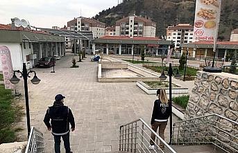 Karabük'te sokağa çıkma kısıtlamasında denetimler sürüyor