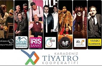 Karadeniz Tiyatro Kooperatifi Samsun'da Kuruldu