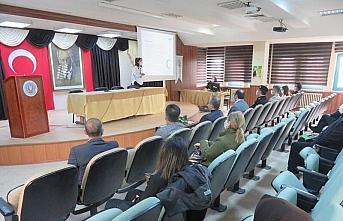 Merzifon'da bağımlılıkla mücadele toplantısı yapıldı