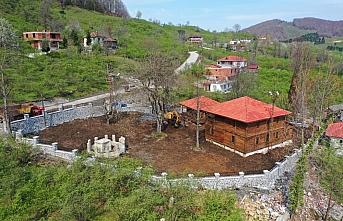 Ordu'da selde hasar gören 154 yıllık ahşap cami restore edildi