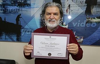 Ordulu emekli, 60 yaşında ikinci üniversite diplomasına...