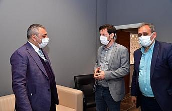 Ortahisar İlçe Başkanı Selahaddin Çebi'den TSYD Trabzon Şubesi'ne ziyaret