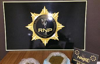 Rize'de uyuşturucu operasyonunda gözaltına alınan...
