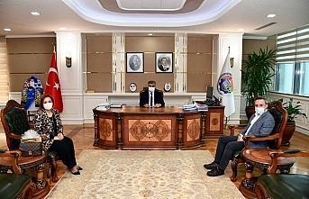 Safranbolu Turizm İşletmecileri Derneğinden Vali Gürel'e ziyaret