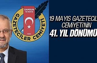 Samsun 19 Mayıs Gazeteciler Cemiyeti'nin 41....