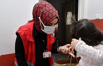 Samsun Büyükşehir Belediyesinden yetim çocuklara hediye