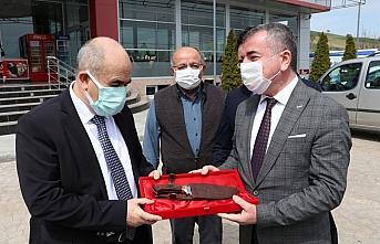 Samsun Valisi Dağlı Havza'da Kovid-19 değerlendirme toplantısına katıldı