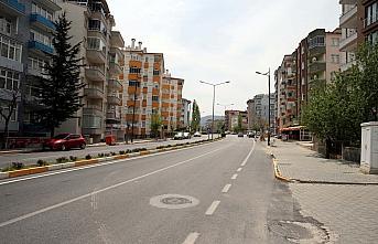 Samsun ve çevre illerde sokağa çıkma kısıtlaması nedeniyle sessizlik hakim