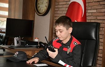 Samsun'da 23 Nisan coşkusu konvoyla yaşatıldı