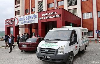 Samsun'da yalnız yaşadığı evde ölü bulunan hastane çalışanı için tören düzenlendi
