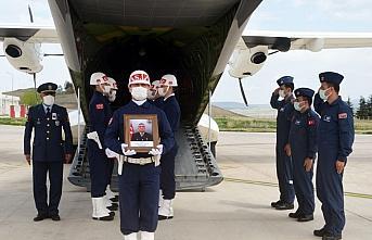 Şehit Uzman Onbaşı Hüsamettin Gökçe'nin cenazesi Amasya'ya getirildi