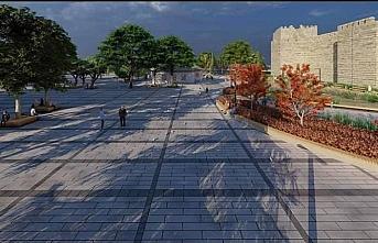 Sinop'ta 2 bin 500 yıllık tarihi surların gün yüzüne çıkarılacağı projeye hayata geçiyor