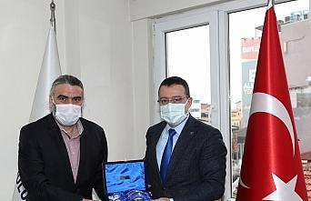 Trabzon Sağlık Müdürü Usta'dan, AA Trabzon Bölge...