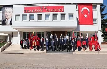 Trabzon ve çevre illerde 23 Nisan Ulusal Egemenlik ve Çocuk Bayramı törenlerle kutlandı