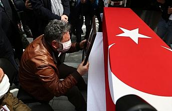 Türk Yıldızları uçağının düşmesi sonucu...