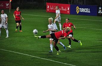 Turkcell Kadın Futbol Ligi'nde ilk gün maçları...