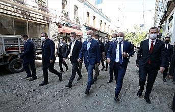 Bakan Karaismailoğlu, Trabzon'da inceleme ve ziyaretlerde bulundu