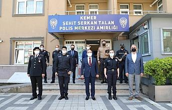 Bartın Valisi Sinan Güner, güvenlik güçleri ve...