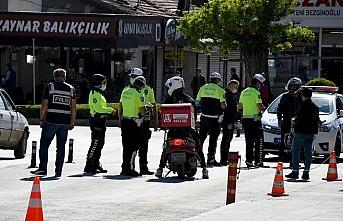 Çorum'da polisin sıkı denetimleriyle motosiklet kazaları yüzde 25 azaldı