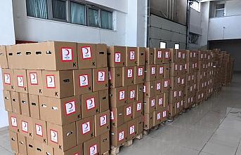 Düzce'de Türk Kızılay gönüllüleri 20 bin ihtiyaç sahibini sevindirecek