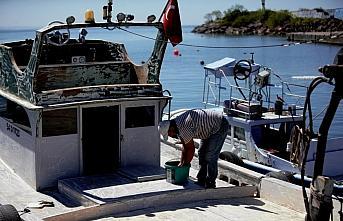 Düzce'deki balıkçılar kısıtlamanın ardından kıyı avcılığından umutlu