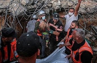 İsrail'in saldırılarında şehit sayısı 124'e yükseldi