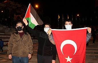 İsrail'in Mescid-i Aksa saldırıları Çorum, Kastamonu,...