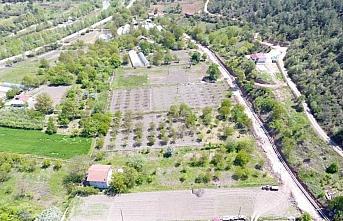 Karabük'te tarımsal sulama kanalı çalışmaları sürüyor