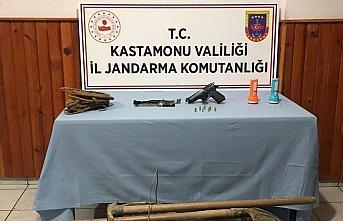 Kastamonu'da izinsiz kazı yapan 7 kişi gözaltına alındı
