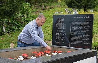 Kemençe üstadı Katip Şadi'nin mezarı yaptırıldı