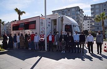 Kovid-19 sürecinde Yıldız Gençlik'den Türk Kızılay'a destek