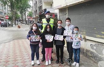 Samsun'da Karayolu Trafik Haftası dolayısıyla etkinlikler düzenlendi
